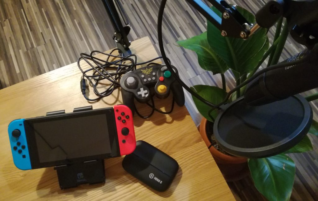 Nintendo Switchと配信機器