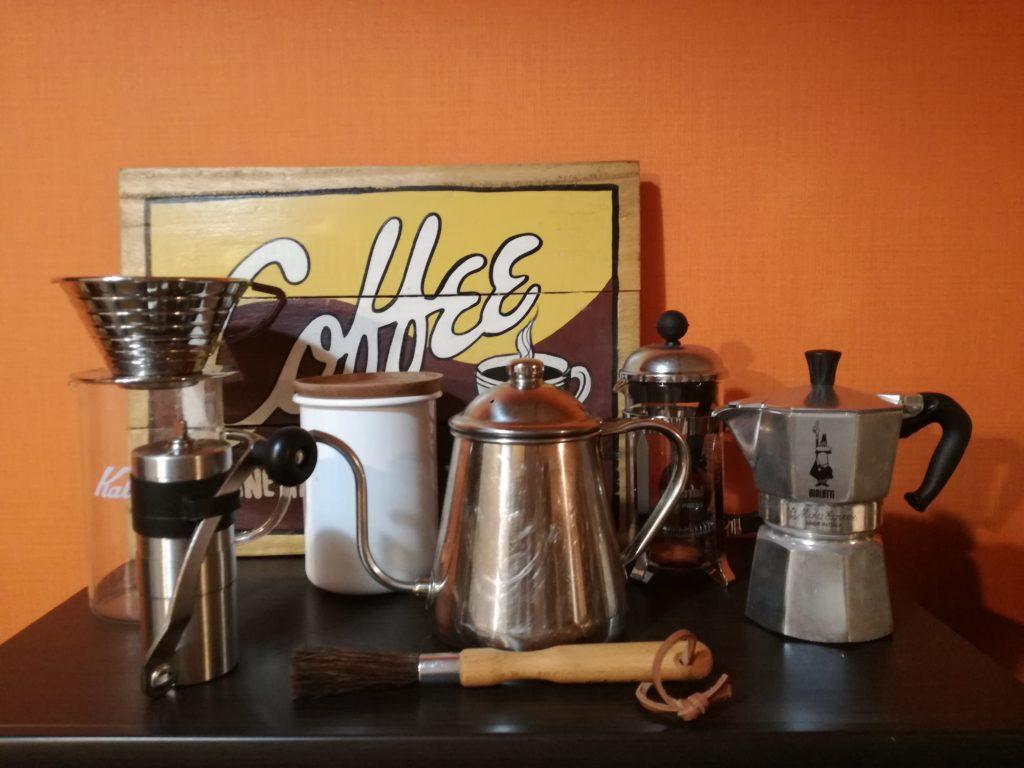 コーヒー器具の写真